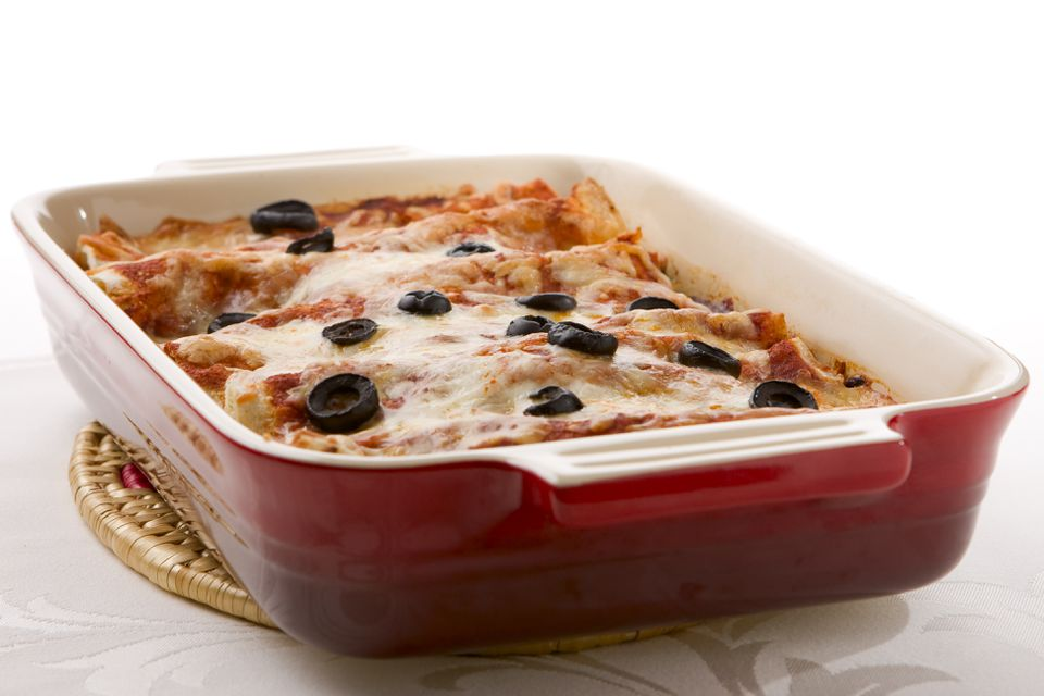tortilla casserole with olives