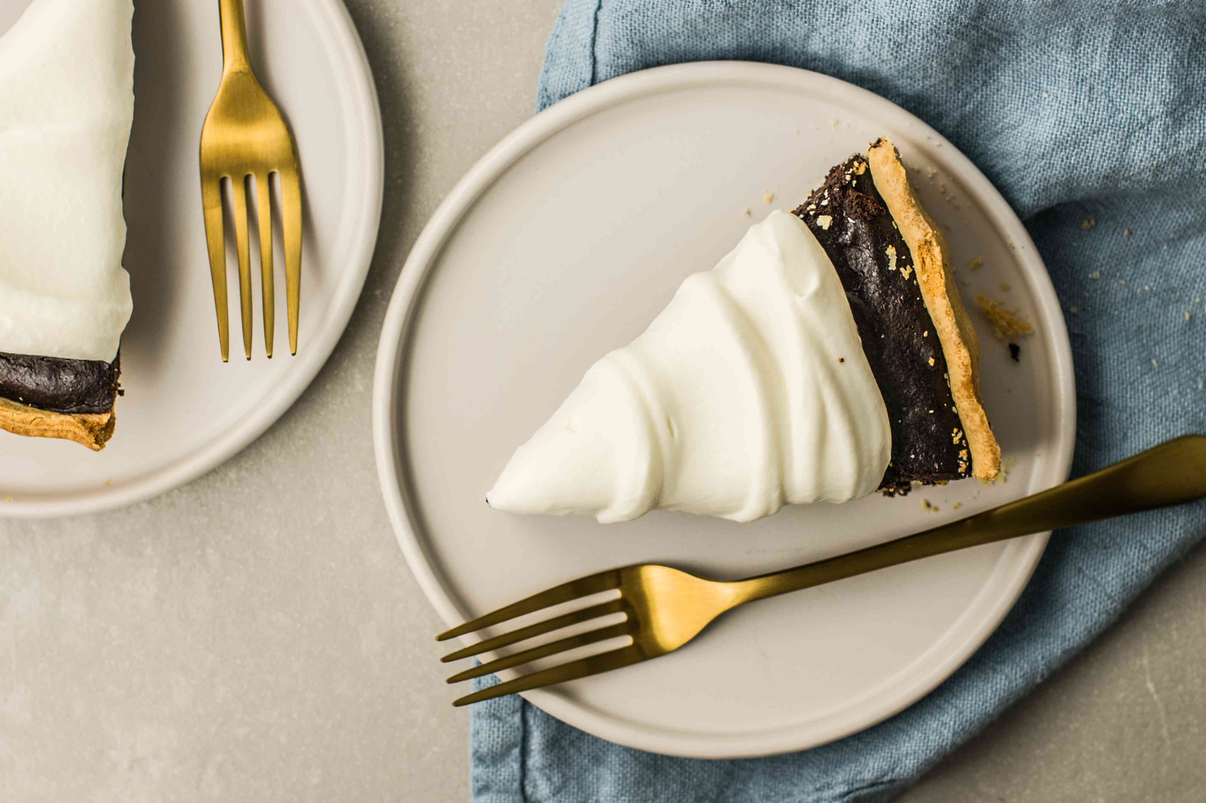 Top your favorite dessert with whipped cream.