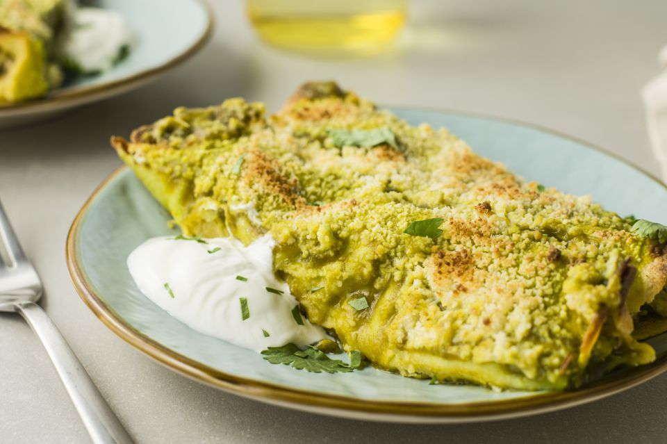 Enchiladas verde with chicken recipe