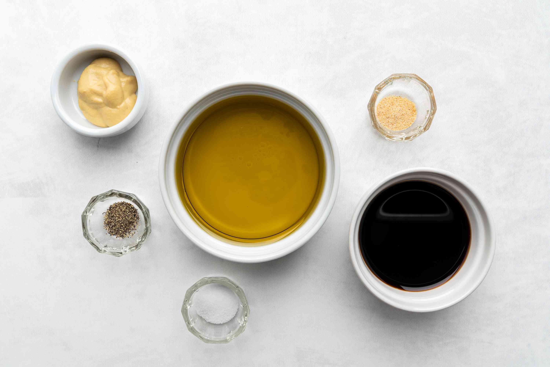 Balsamic and Mustard Vinaigrette ingredients