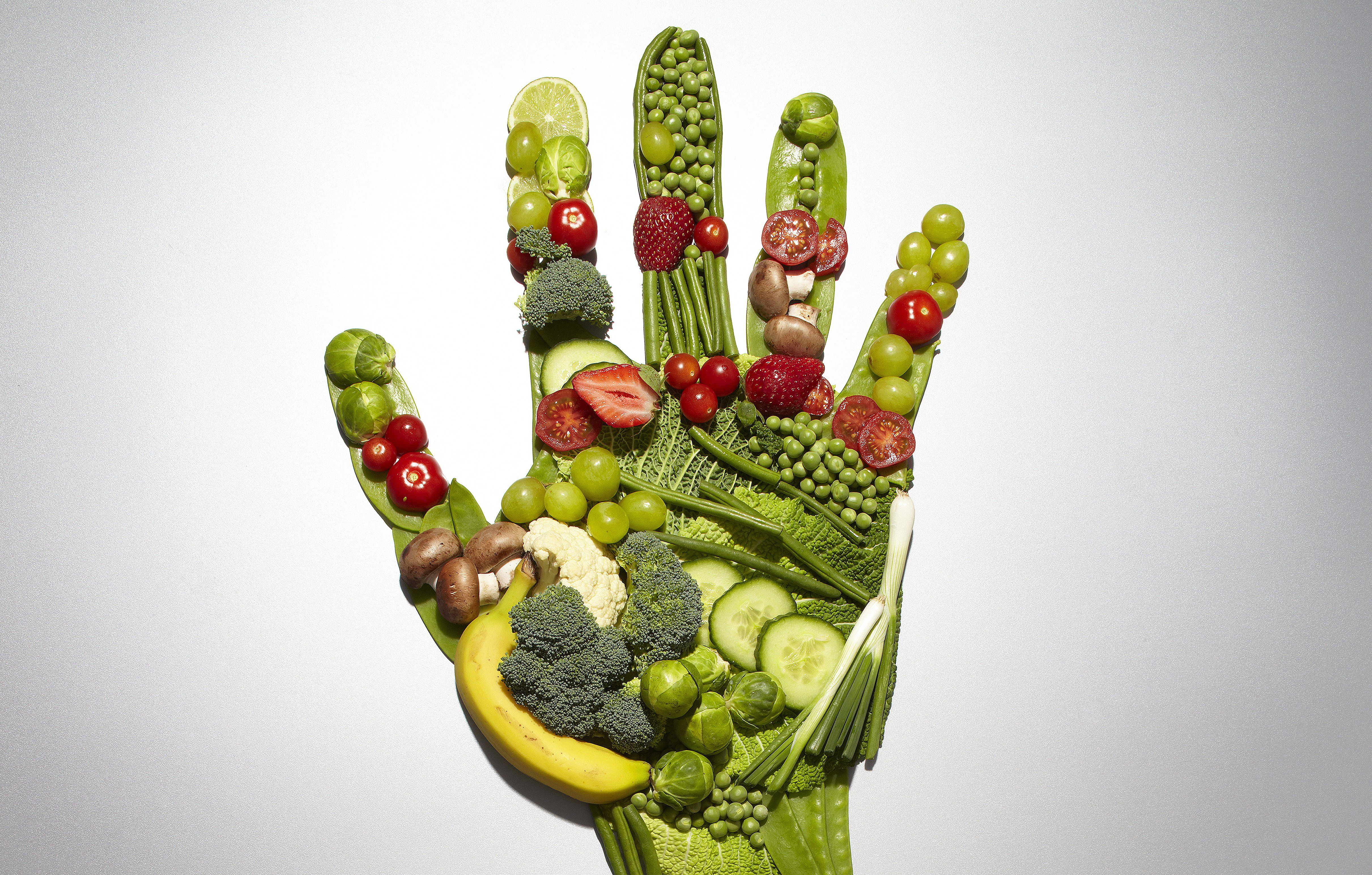Fruit and vegetable hand