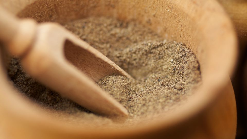 Close-Up Of Ground Spice