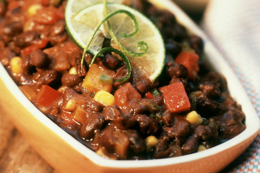 Crockpot Black Bean Chili Recipe