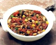vegetarian wheat berry chili recipe