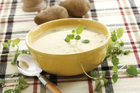 Dairy Free Vegan Cream Of Potato Soup Recipe
