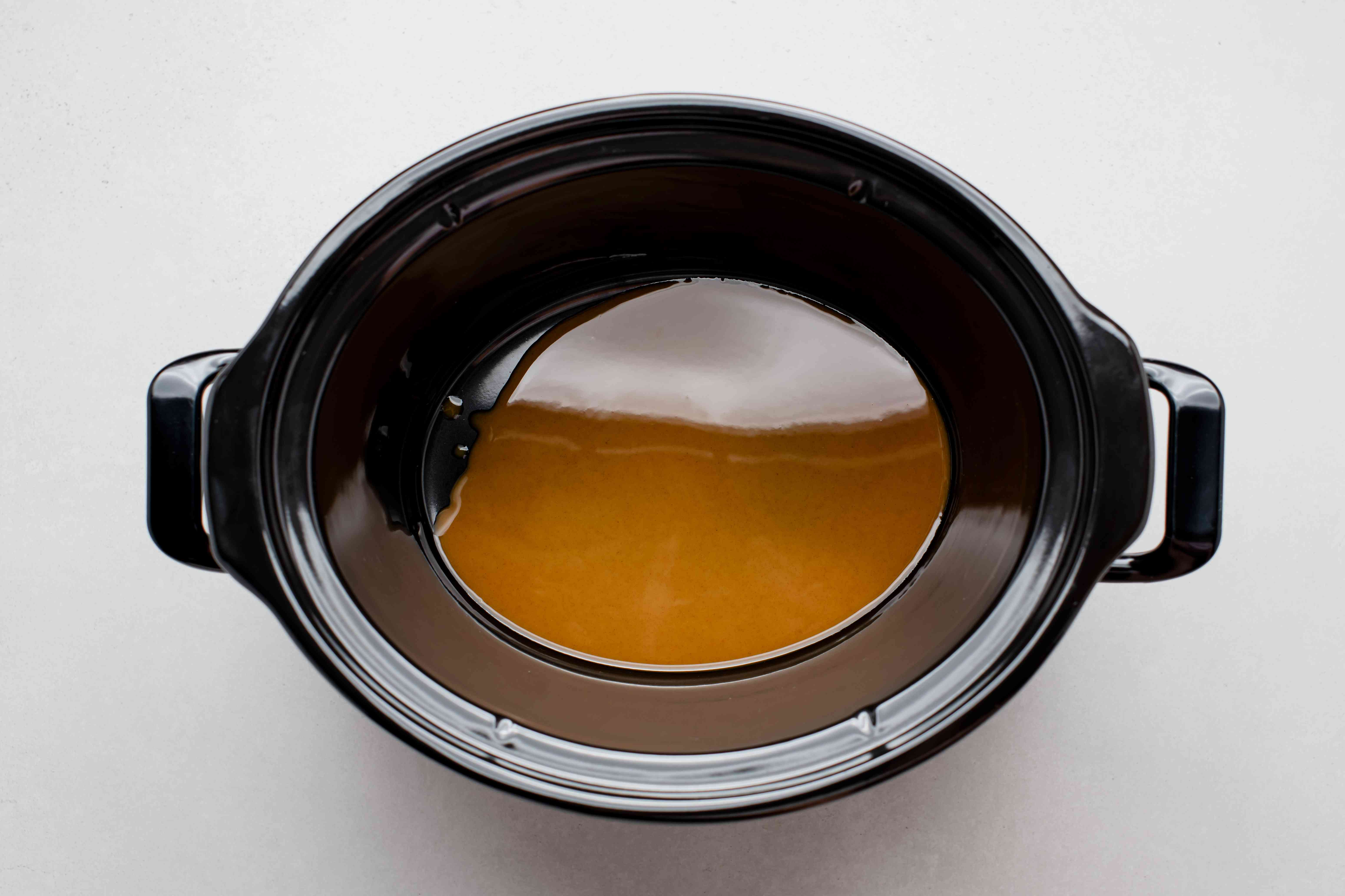 add roux to crock pot