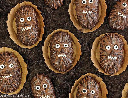 Chocolate-Dipped Wookiee Cookies