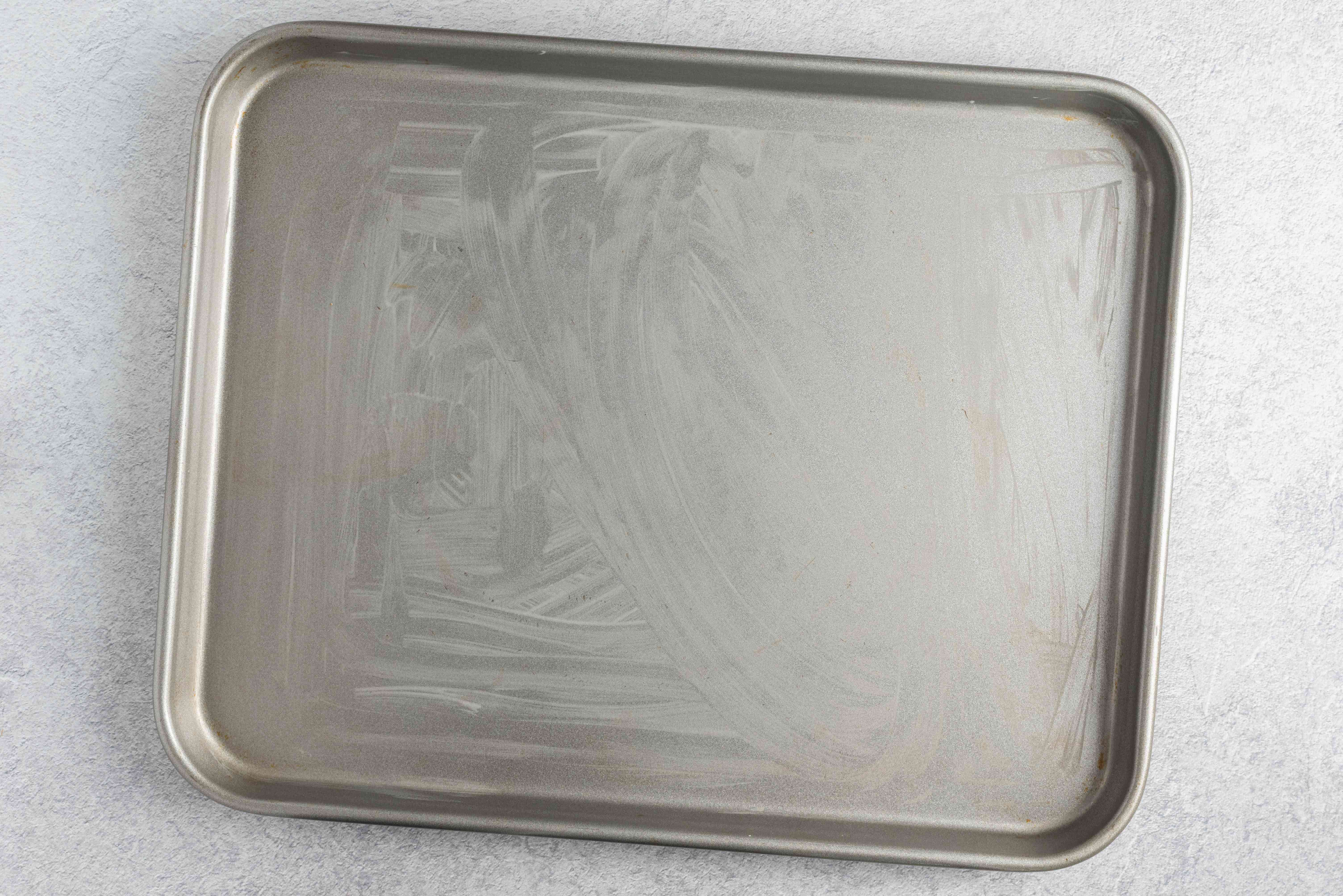 Lightly grease baking sheets