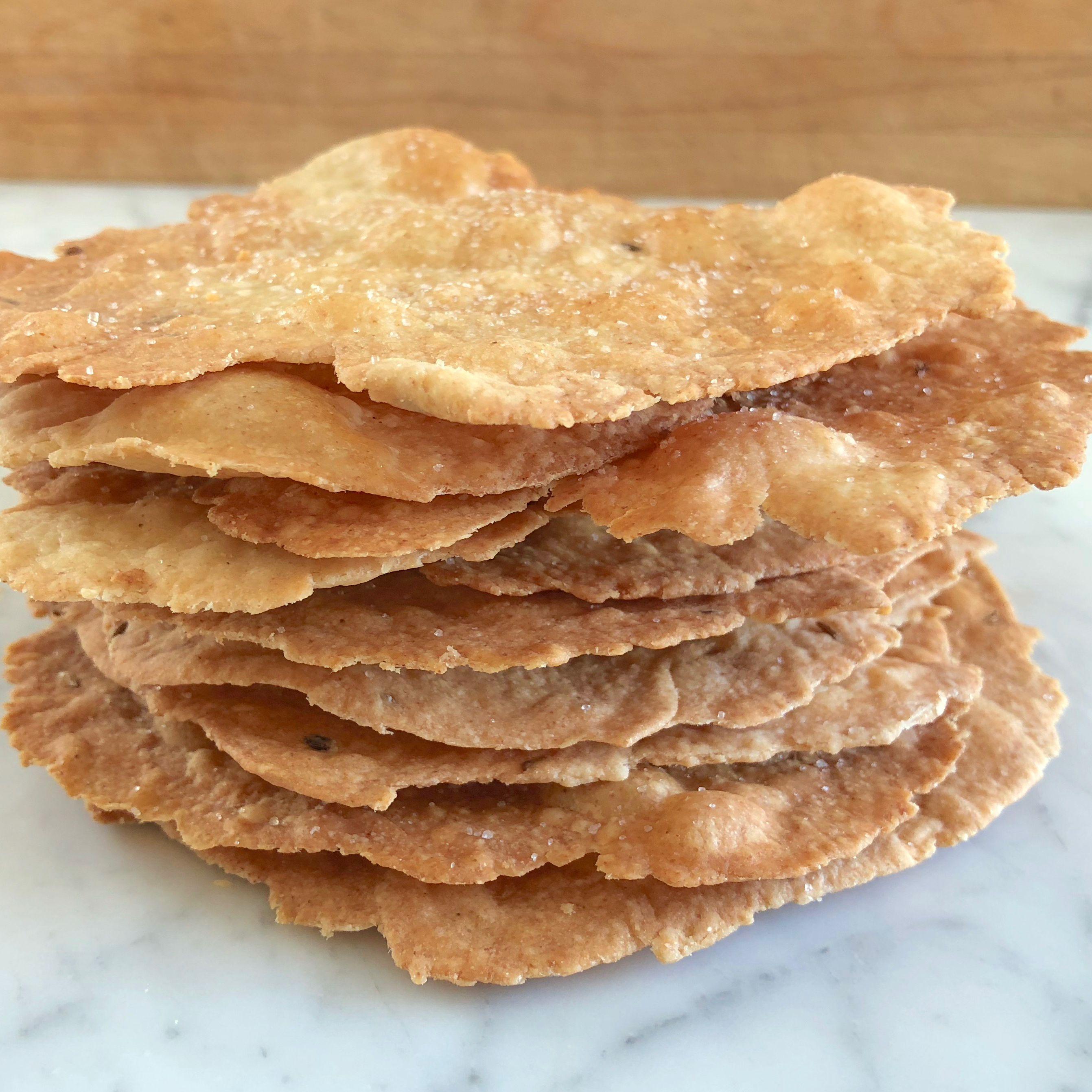 Tortas de Aceite (Spanish Olive Oil Crackers)