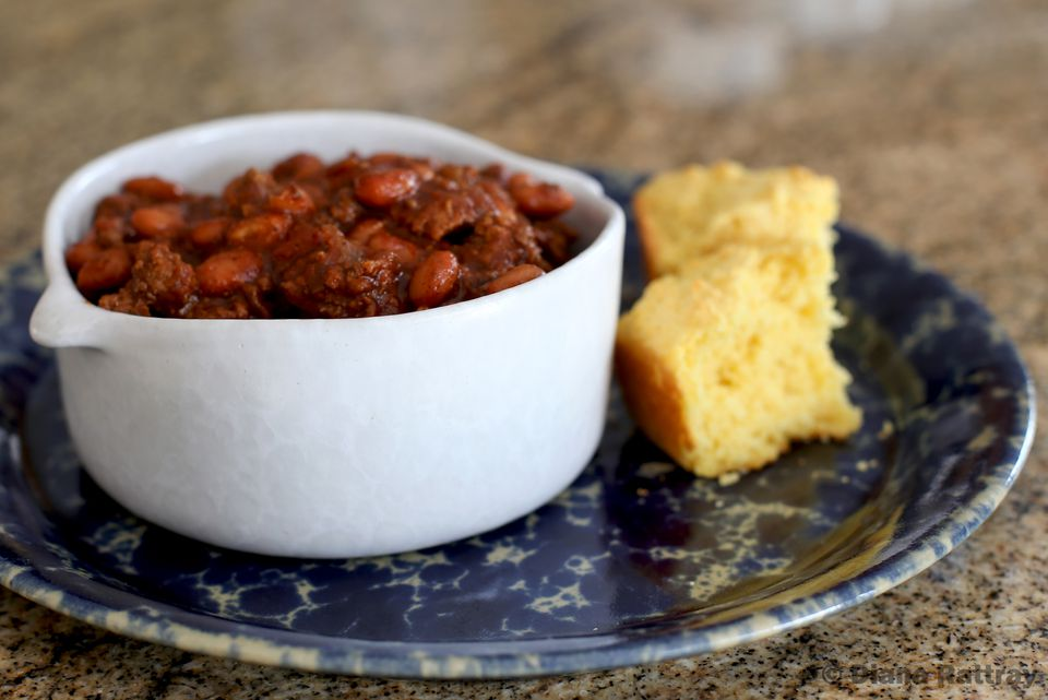 Chili Beans With Ground Beef