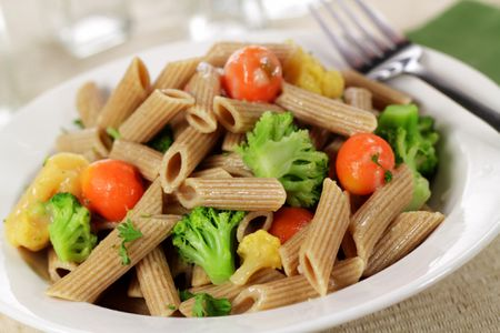 Whole Wheat Pasta Primavera With Vegetables Recipe