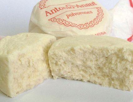 Almond Cakes Polvorones De Aendra