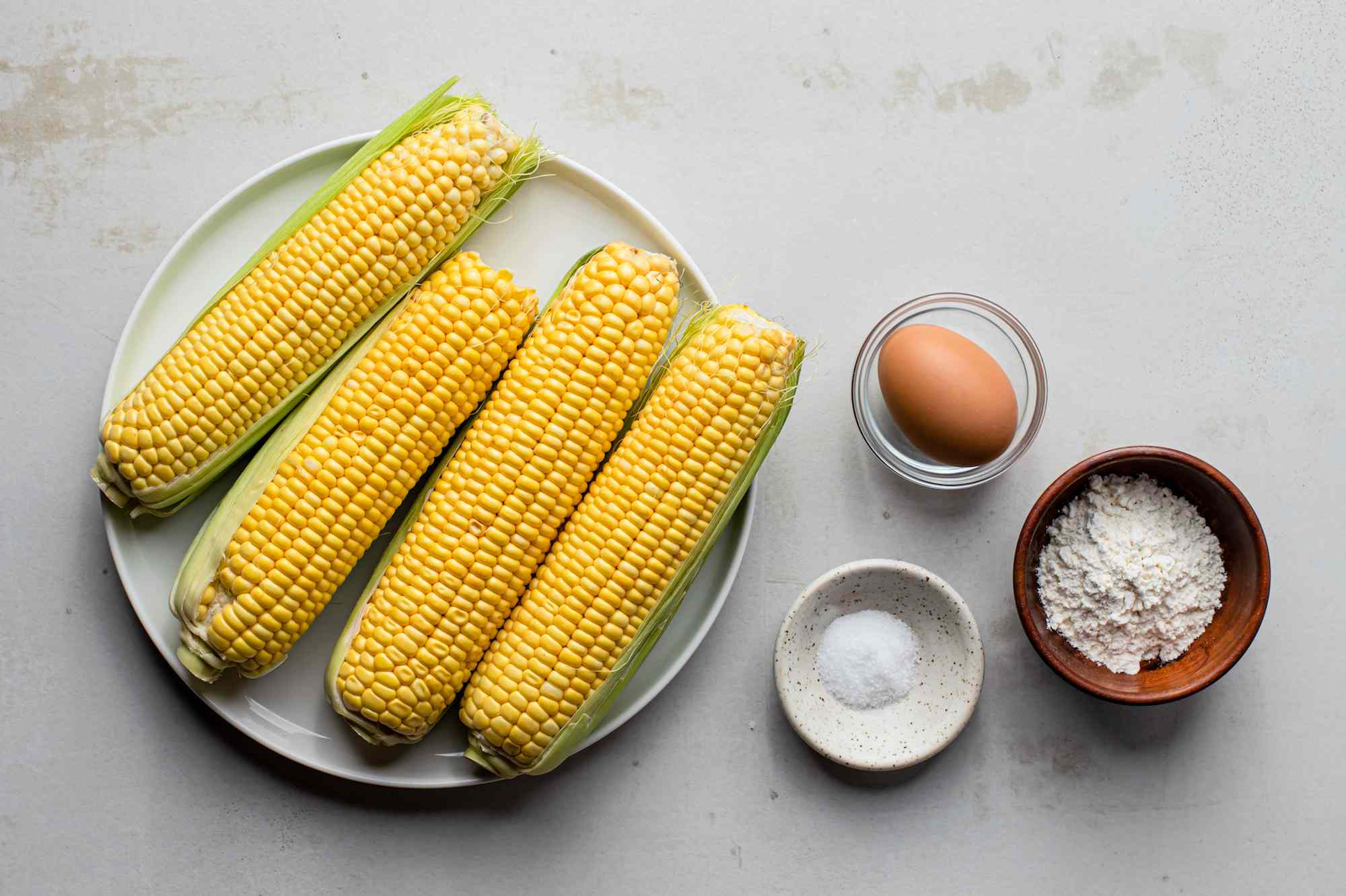 Ingredients corn fritters