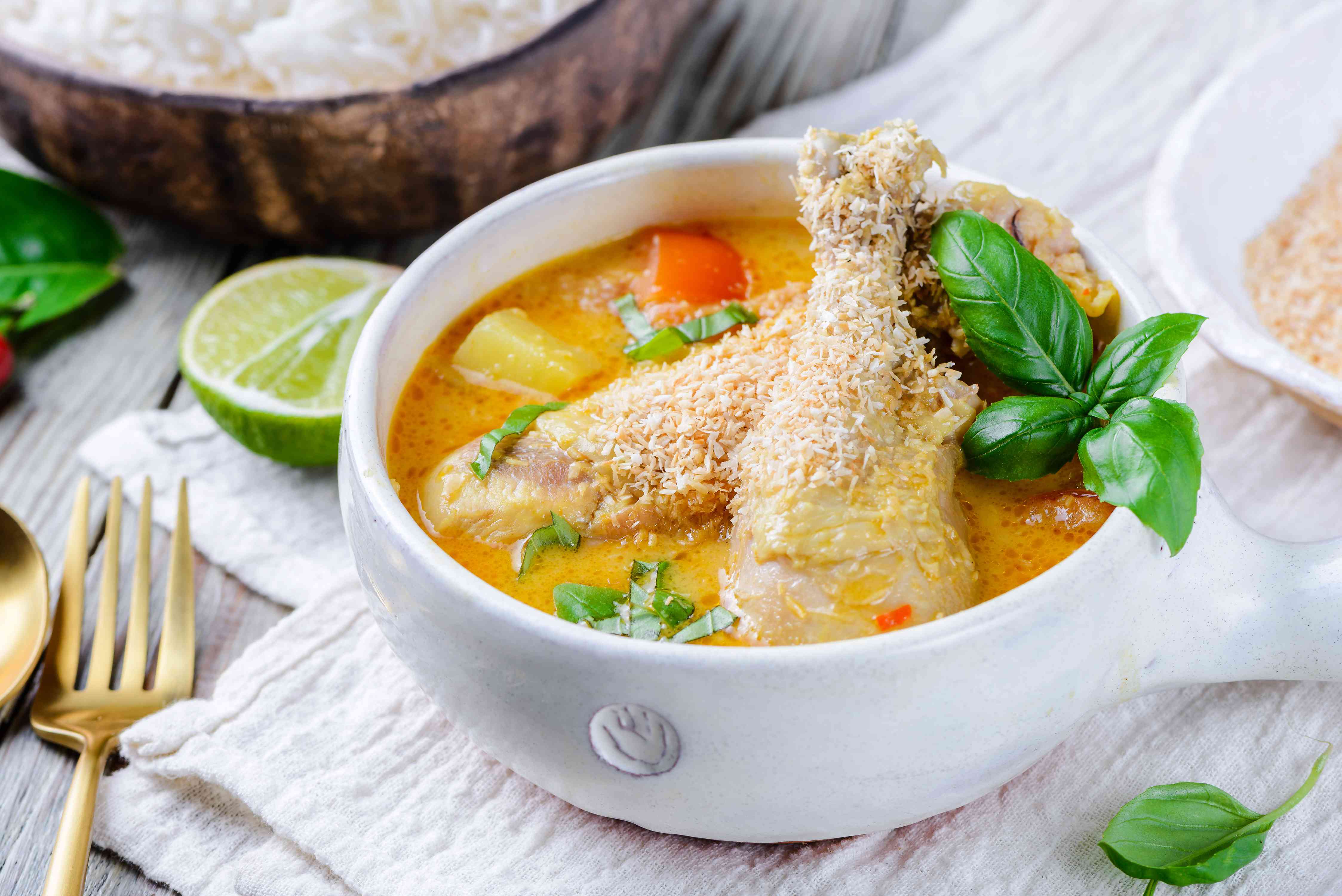 Thai Coconut Chicken Curry Recipe