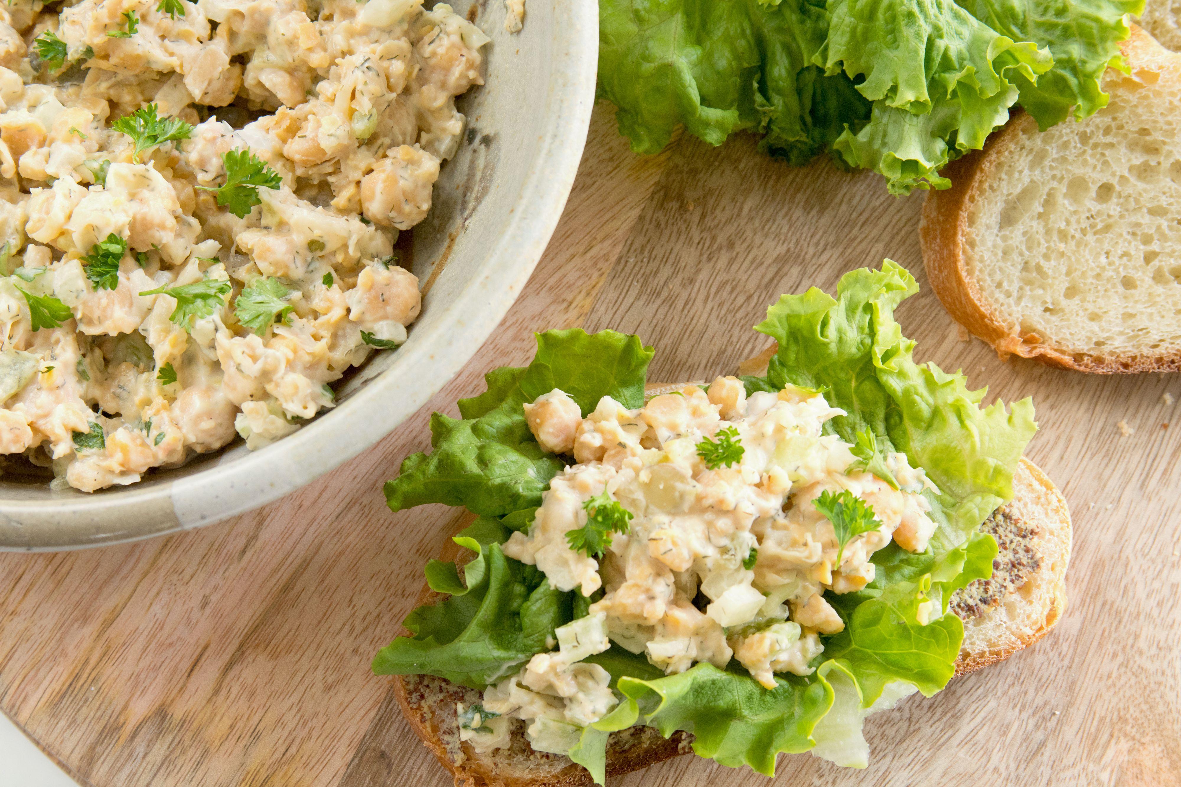 This Mock Tuna Salad Recipe Is a Vegan Delight