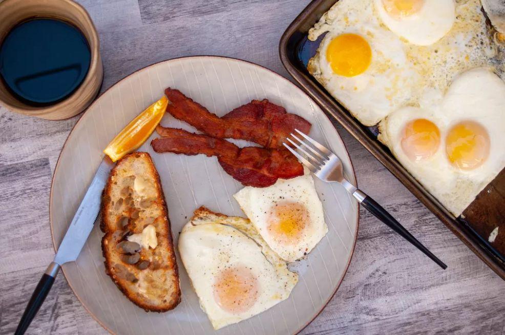 Sheet Pan Eggs