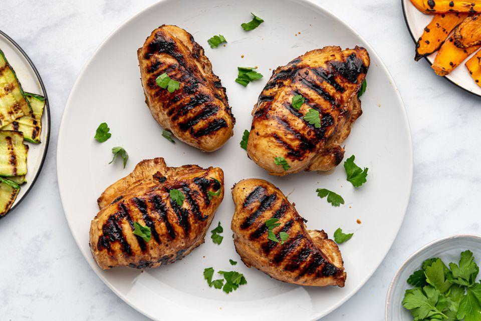 Sesame-Ginger Grilled Chicken Breasts