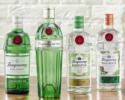 Tanqueray Gin Bottles