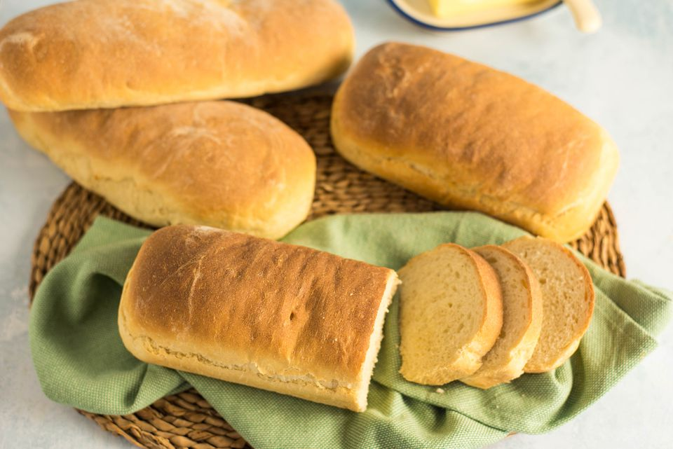 Four loaf whitebread recipe