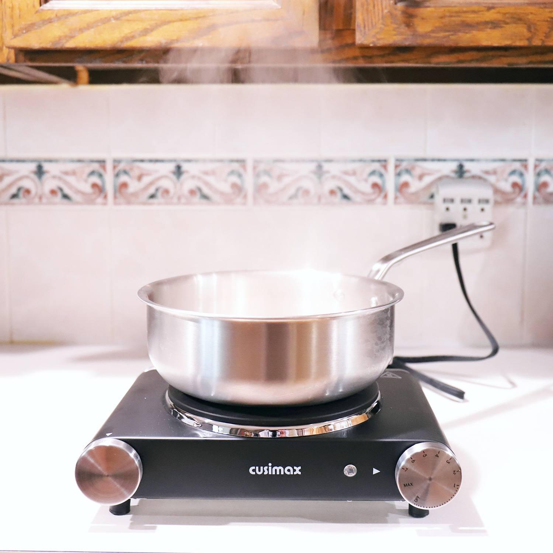 Cusimax 1500W Portable Hot Plate