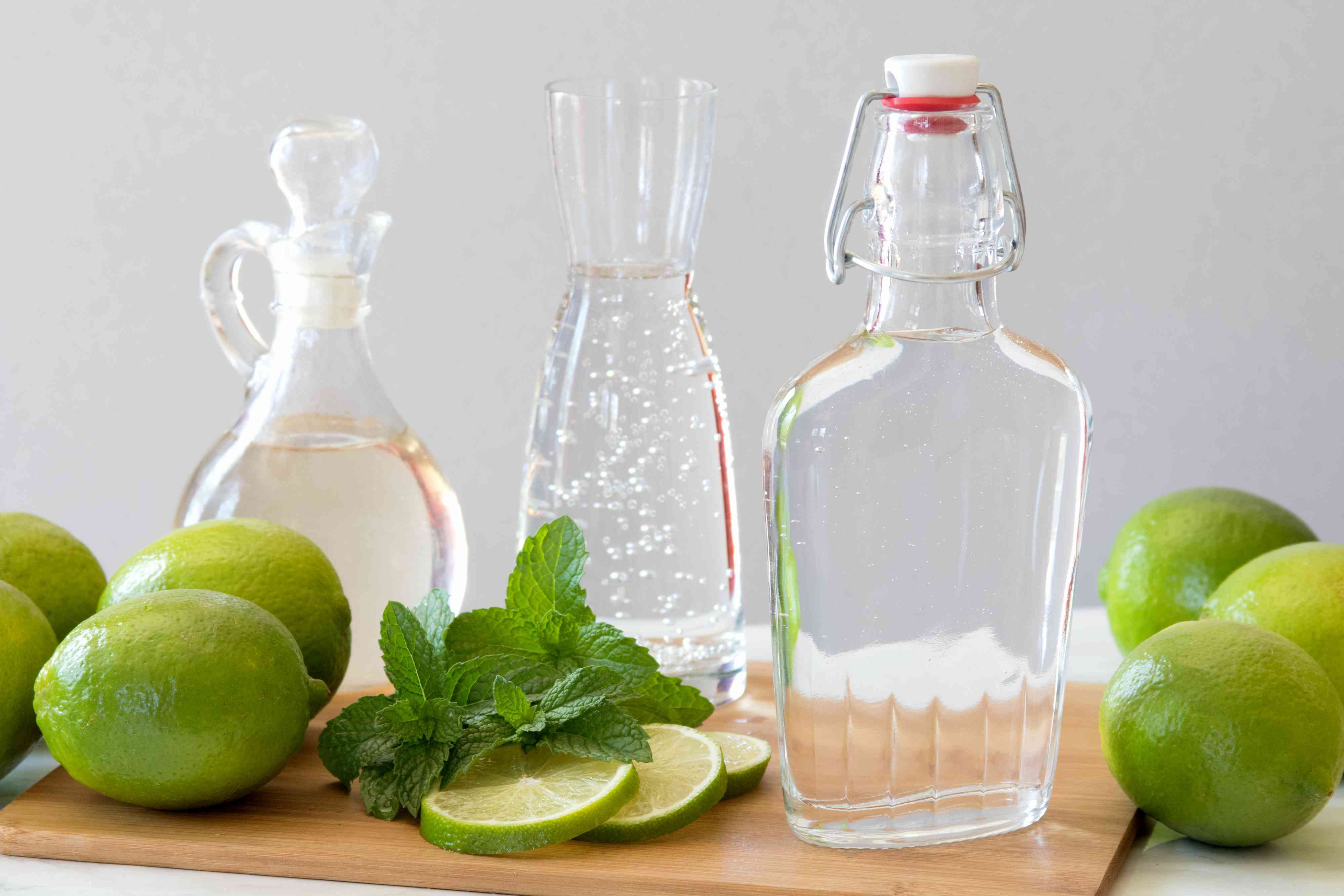 Ingredients for a Pitcher Mojitos