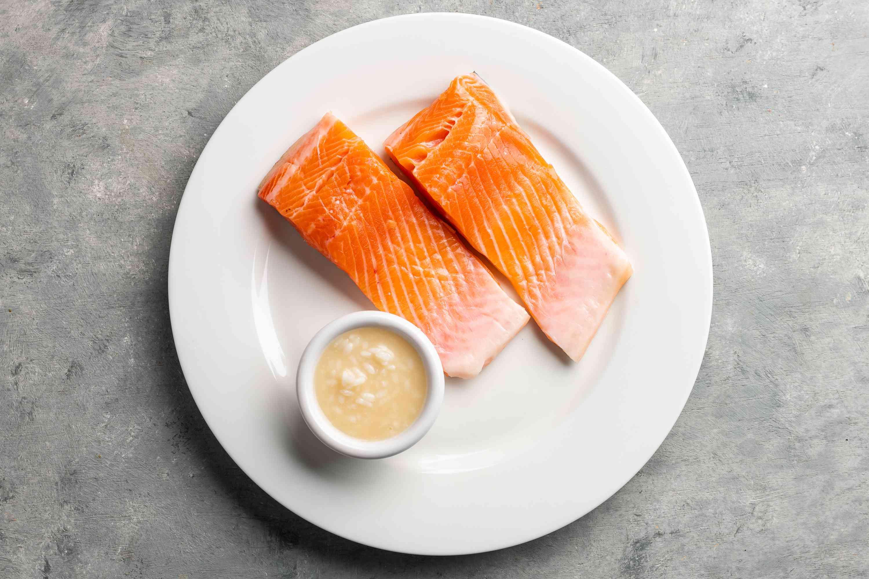 Shio Koji Salmon ingredients