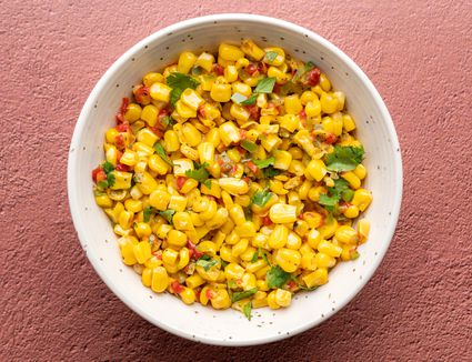 Mexican-Style Corn With Peppers