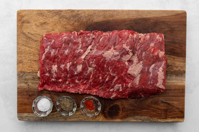 Grilled Skirt Steak ingredients