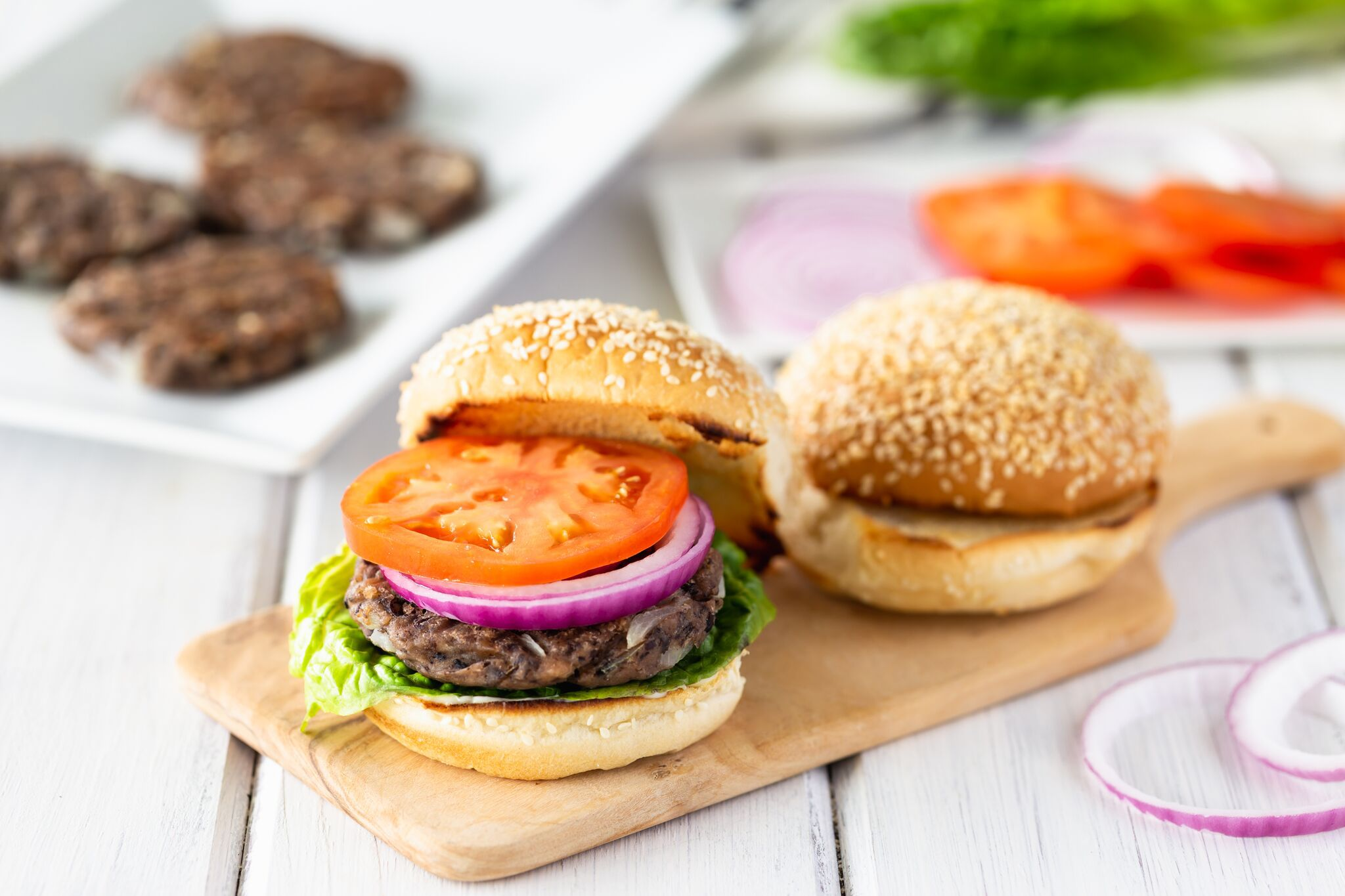 Vegan Black Bean Veggie Burgers Recipe