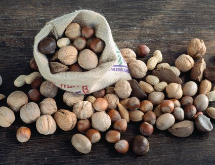 Assorted whole nuts
