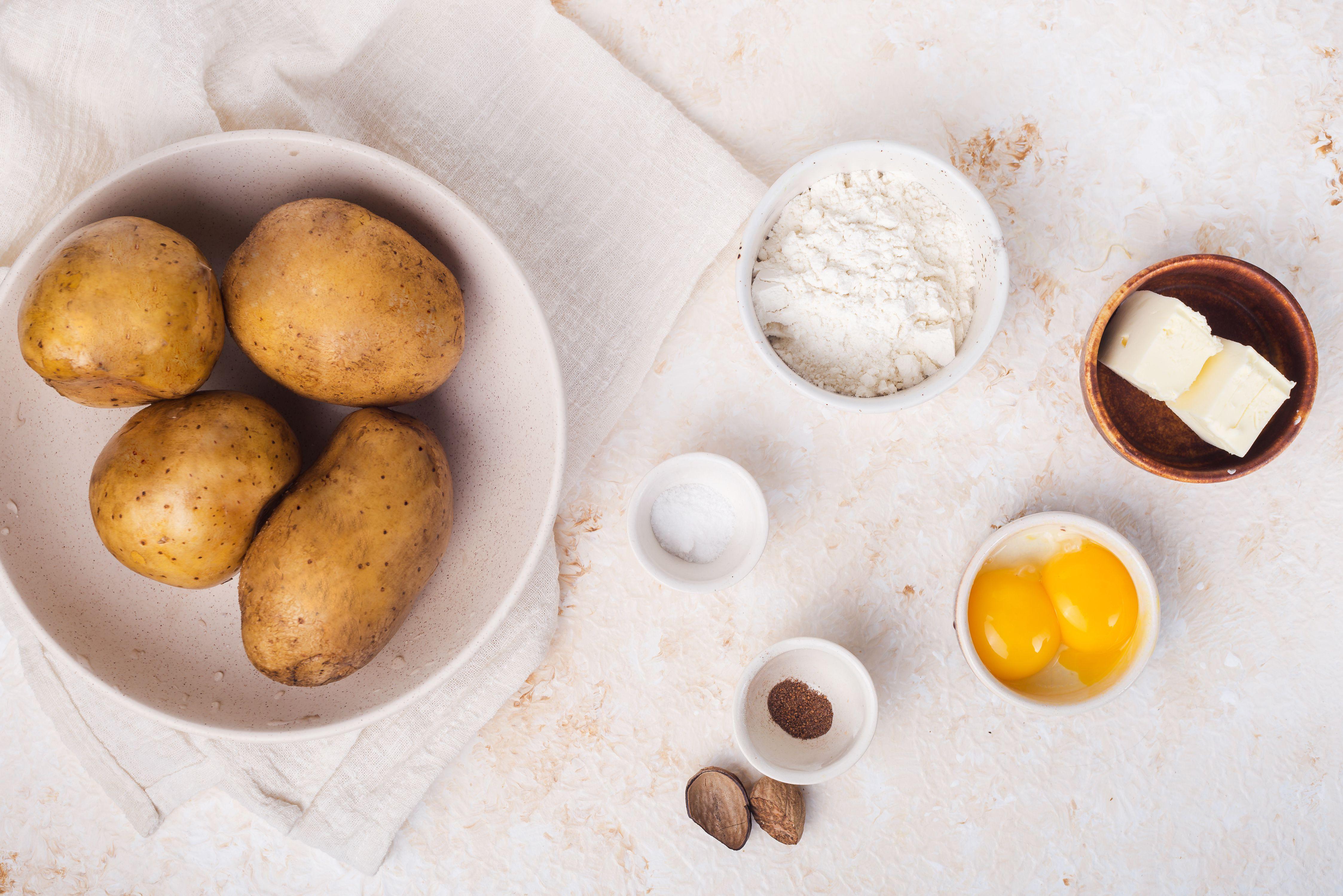 Potato noodle ingredients