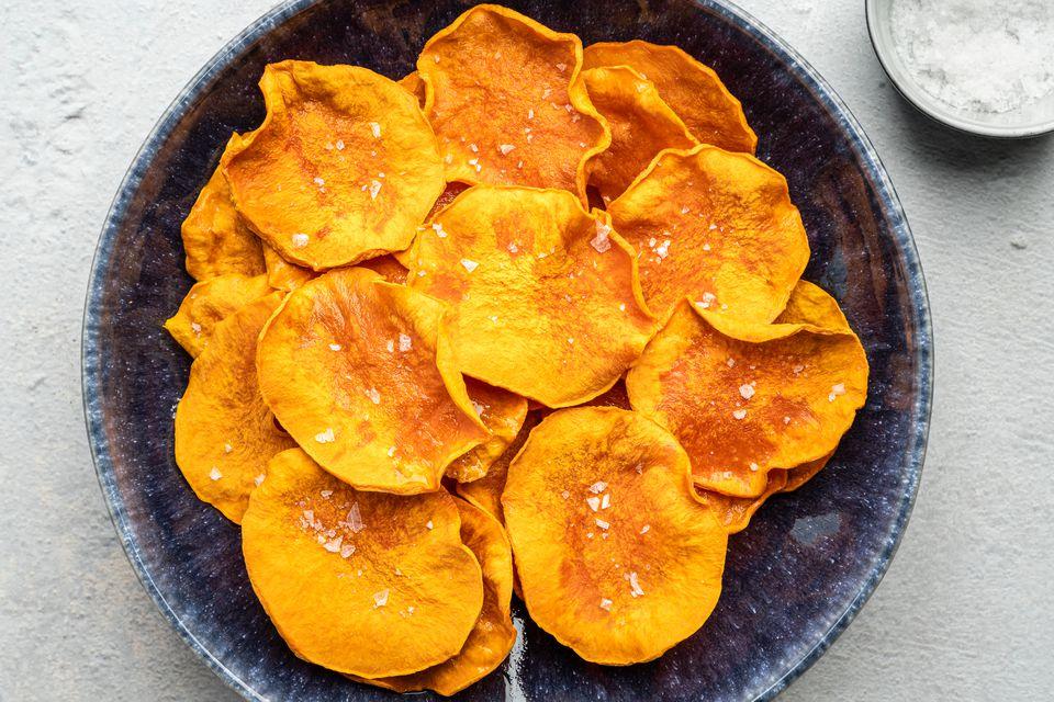 Butternut Squash Chips - Dehydrator Method