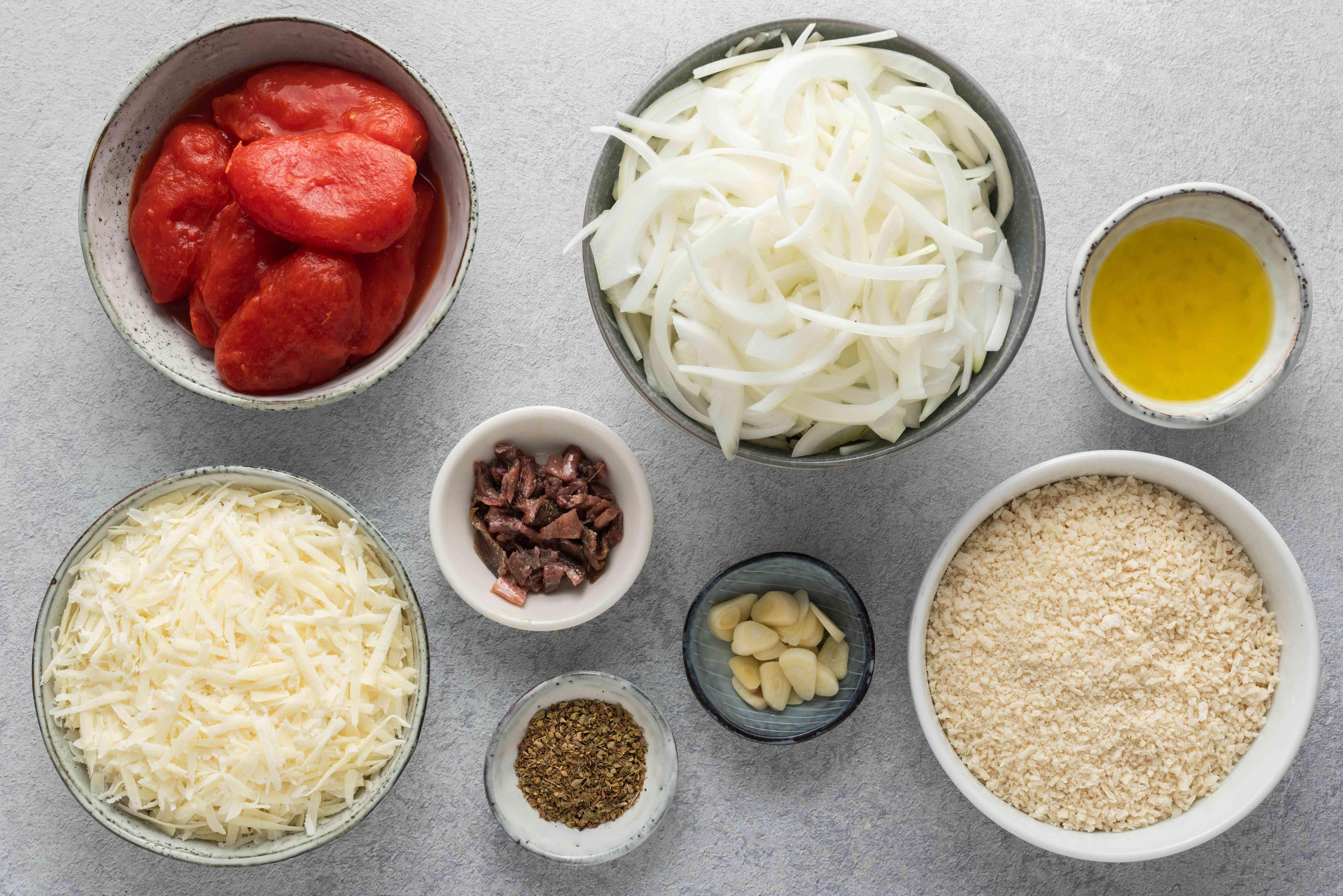 Lo Sfincione, The Original Sicilian-Style Pizza, toppings ingredients