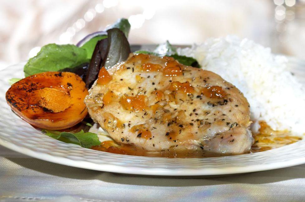 Kosher Apricot Chicken