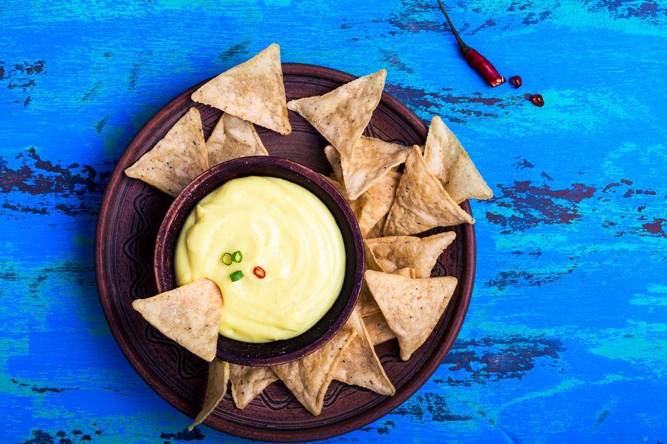 Gluten-free nacho cheese dip