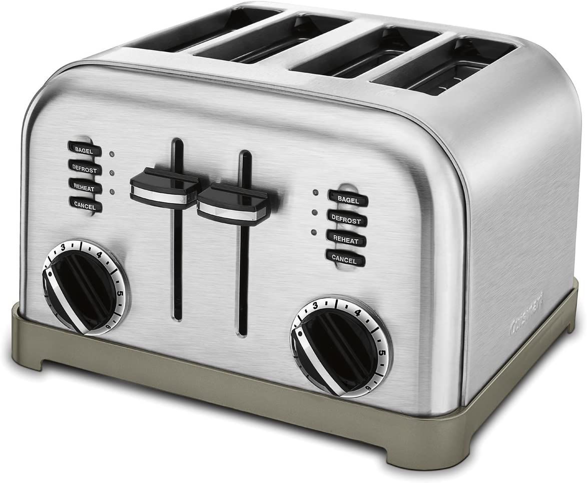 Cuisinart CPT-180P1 4-Slice Classic Metal Toaster