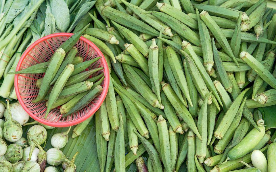 Fresh Okra for Sale
