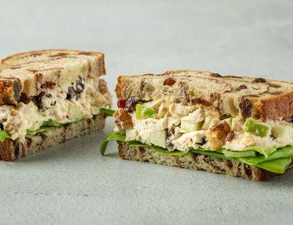 Chicken Waldorf Sandwiches