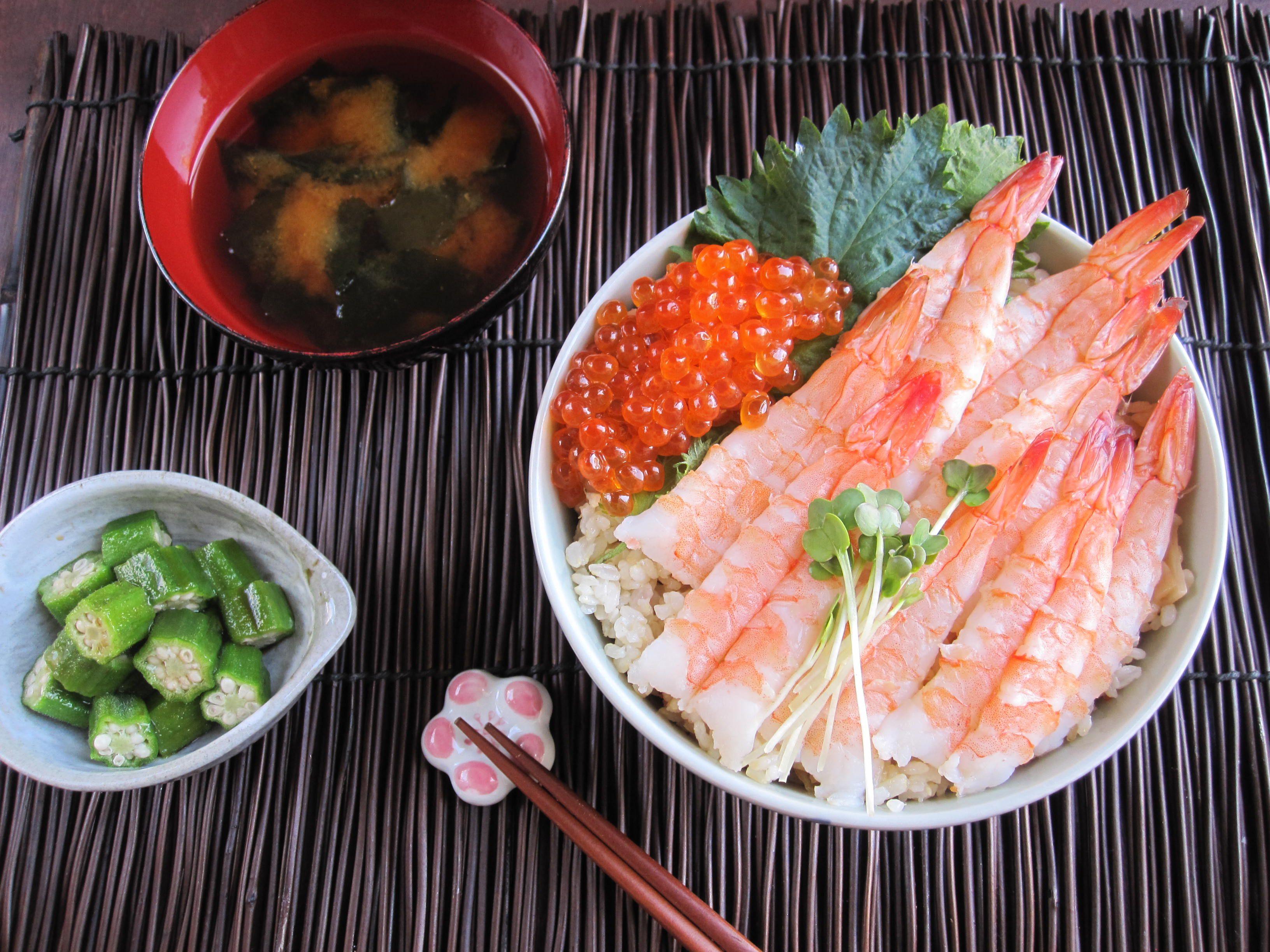 Seafood Chirashi Sushi
