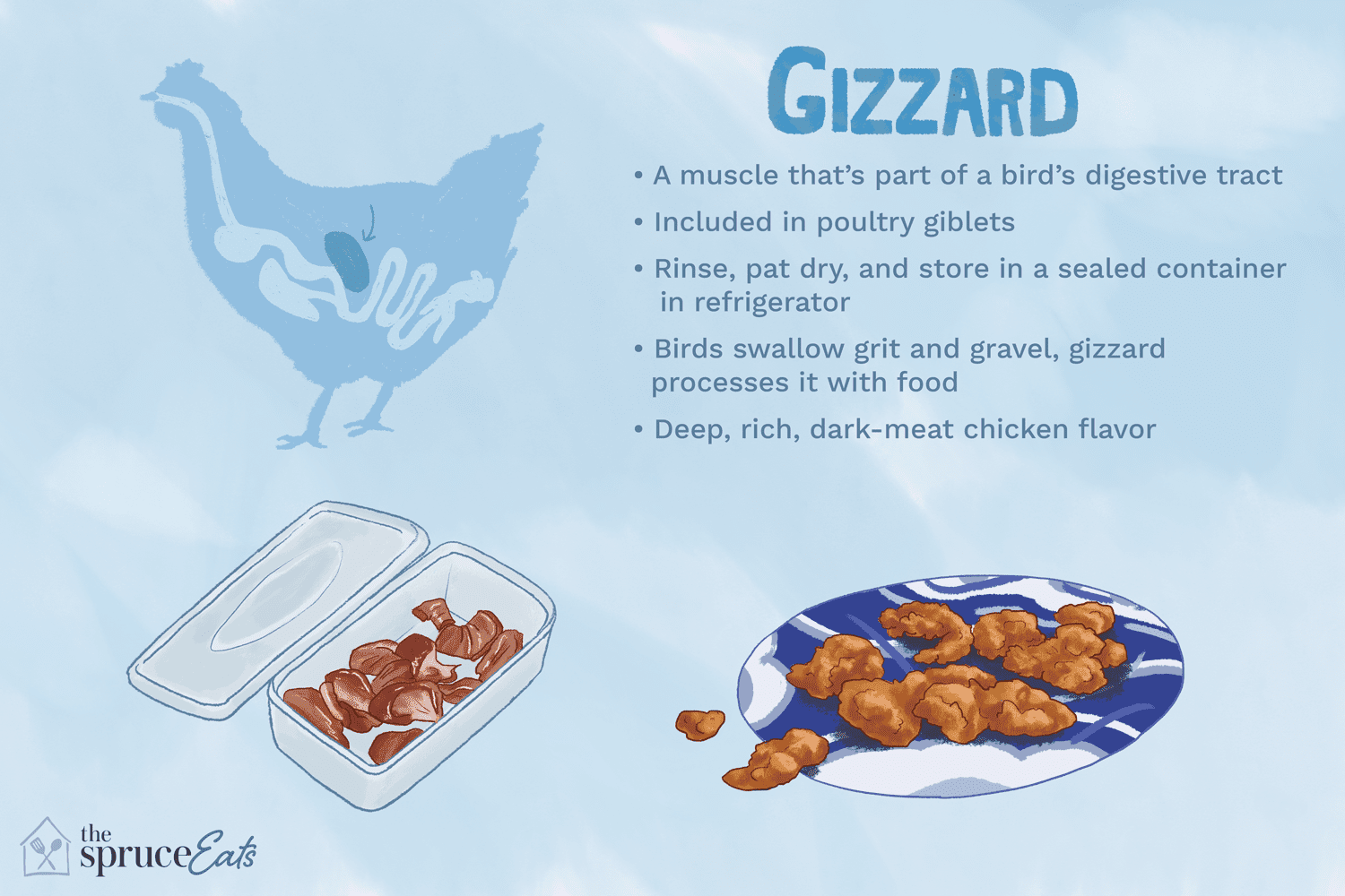What Are Chicken Gizzards And How Are They Used