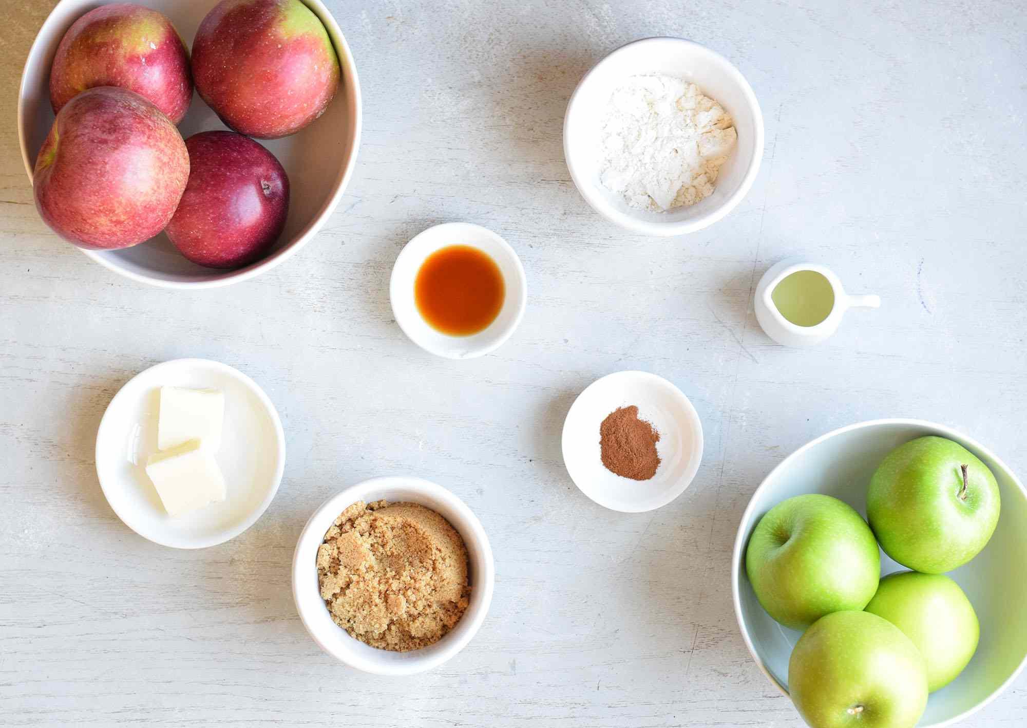 apple streusel ingredients