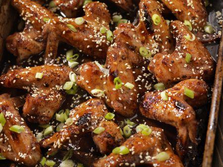 Oven Baked Teriyaki Chicken Wings Recipe