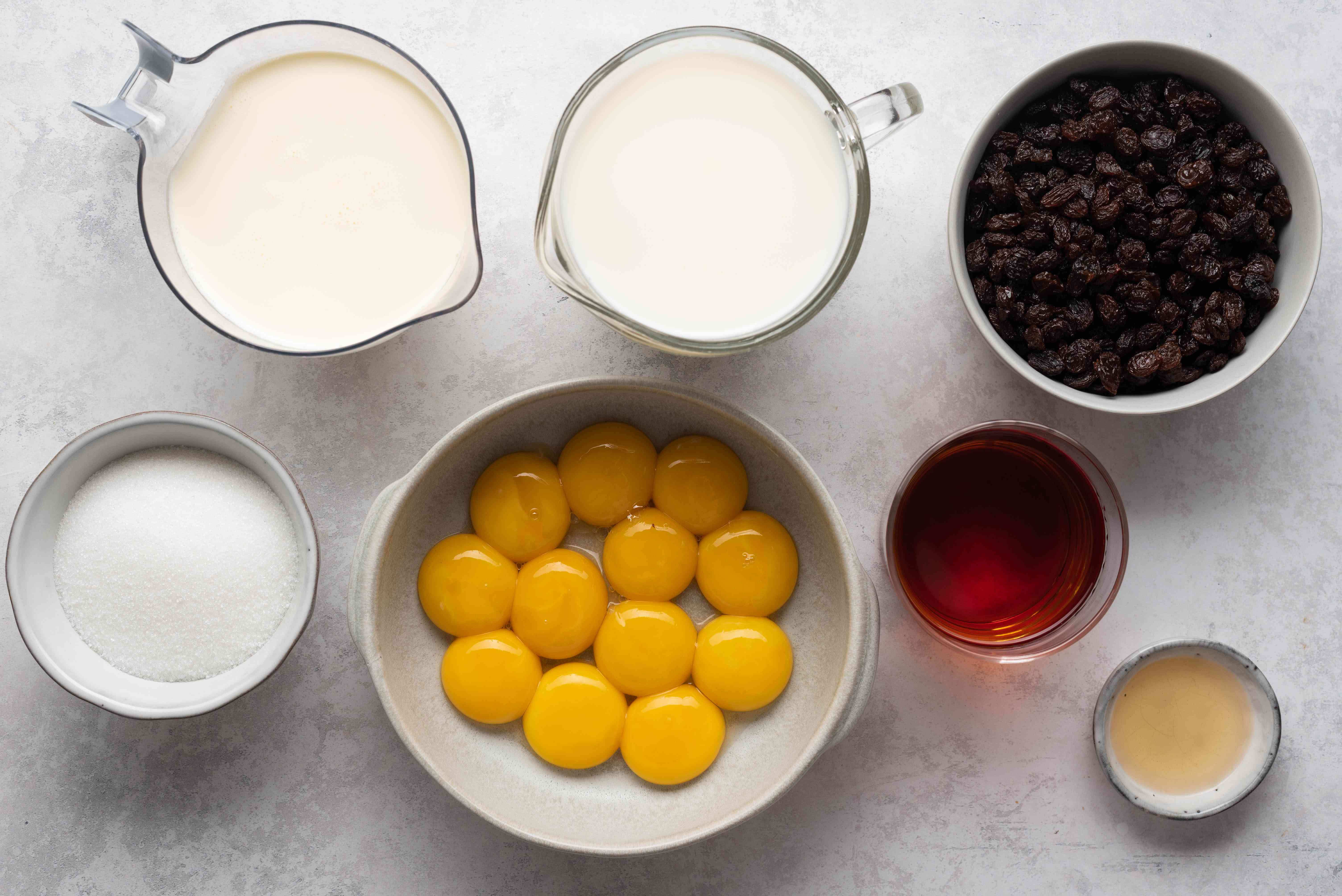 Rum Raisin Ice Cream ingredients