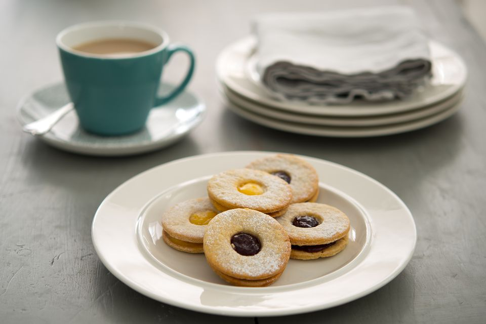 Jammy Dodgers biscuits