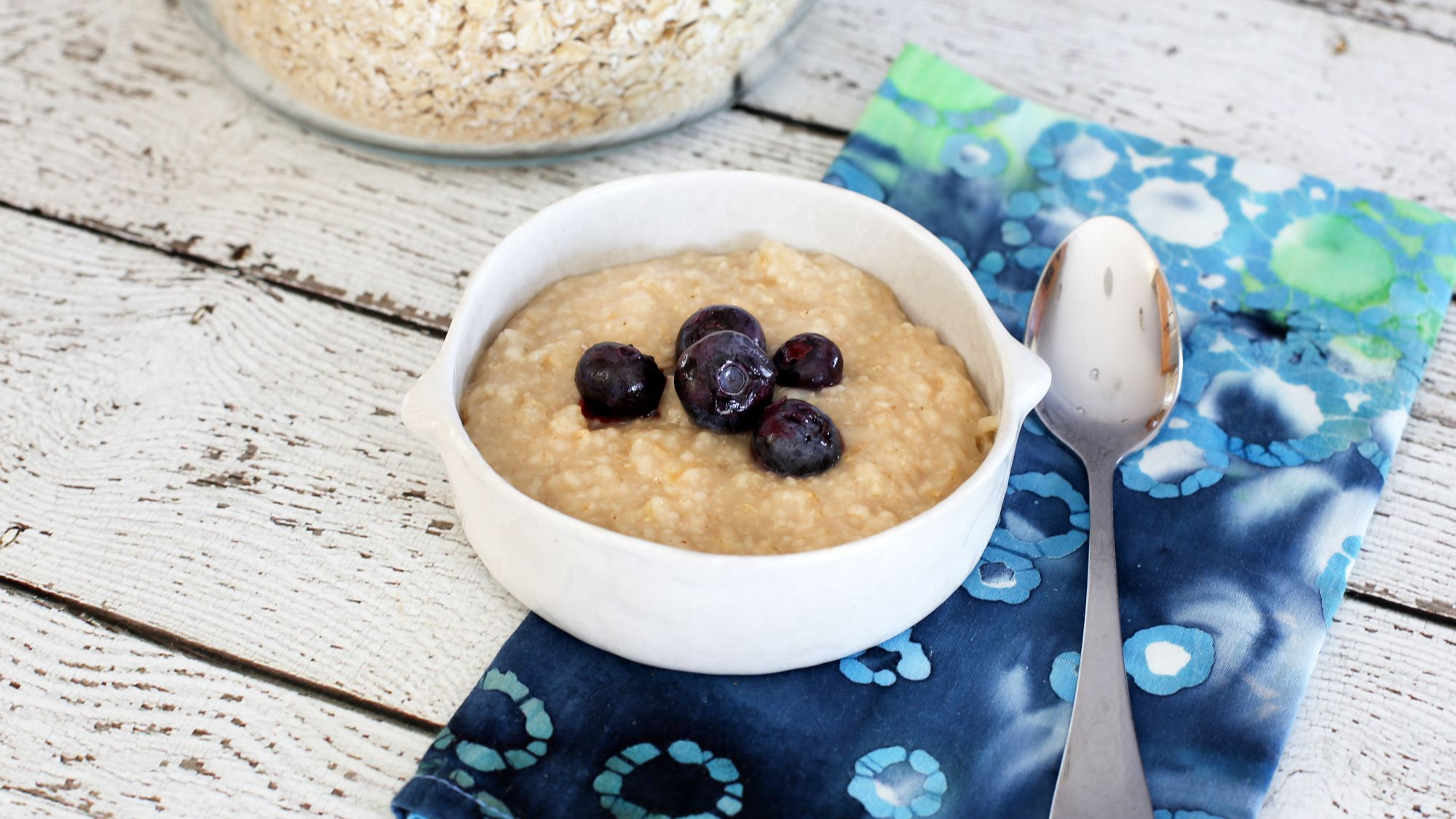 Homemade Instant Oatmeal With Variations
