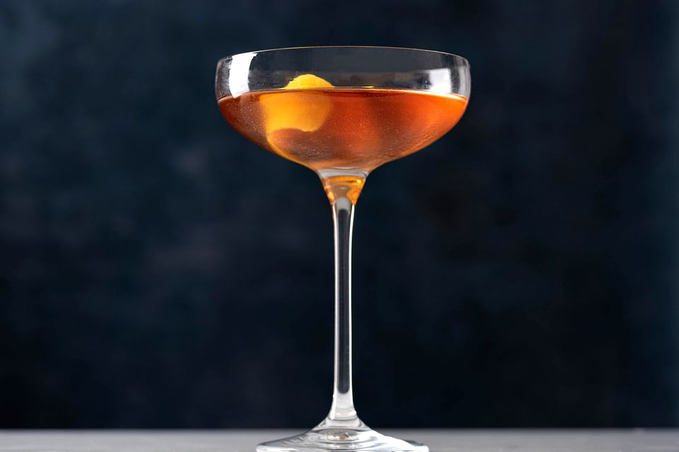 Classic Martinez Cocktail