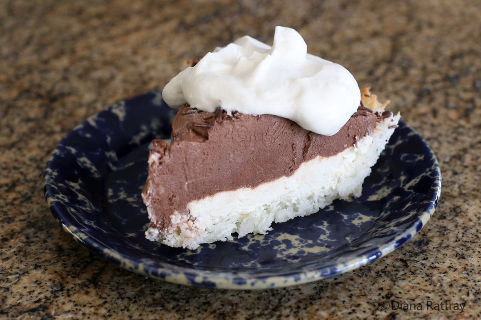 Chocolate Pie Coconut Crust