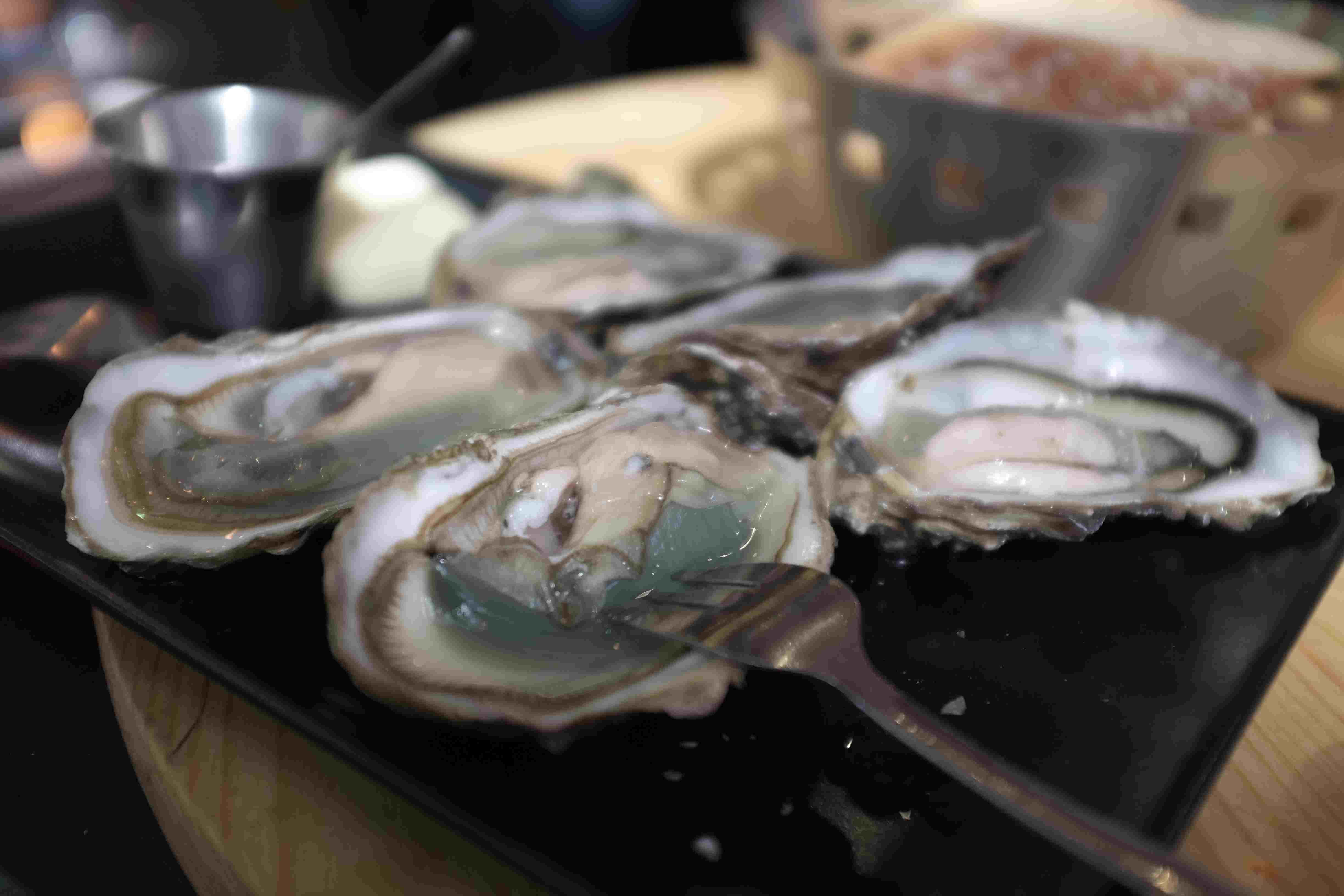 Fresh Oysters on the Half-Shell