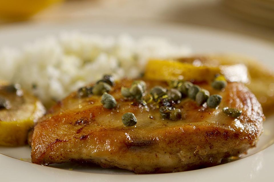 Easy and quick lemon chicken
