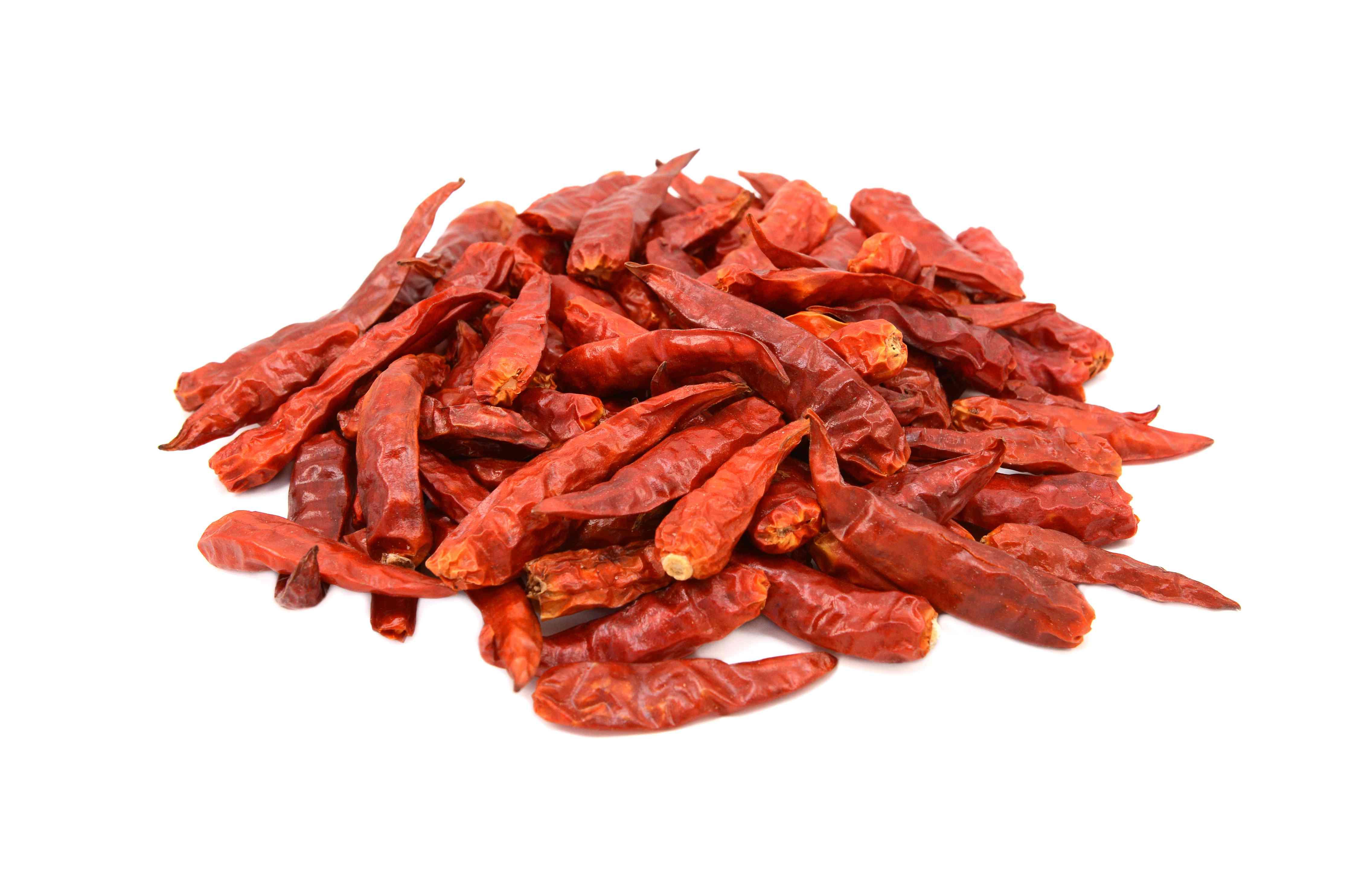 Bird's Eye Dried Chile Pepper